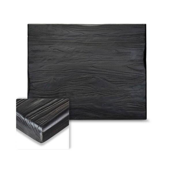 Distressed Ash Black Tabletop