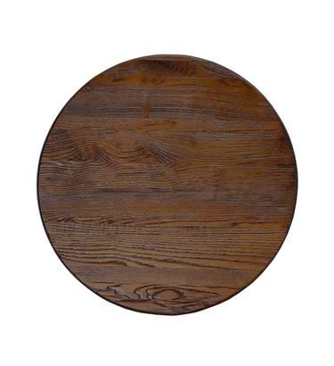 Distressed Ash Walnut Tabletop