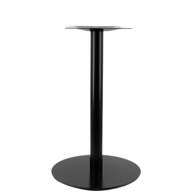 Black Low Profile Table Base